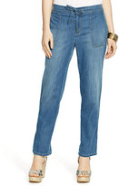 Lauren Ralph Lauren Straight-Leg Denim Pants
