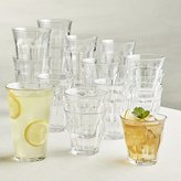 Crate & Barrel Duralex ® Picardie Glass Tumblers, Set of 18