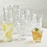 Crate & Barrel Duralex ® Picardie Glass Tumblers Set of 18