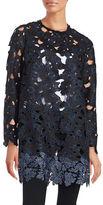 Elie Tahari Lauren Floral Lace Coat