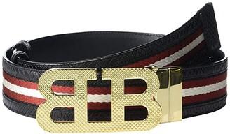 Bally Mirror B 40 M.TSP Belt (Black) Men's Belts