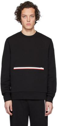 Moncler Black Girocollo Sweatshirt