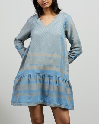 Cecilie Copenhagen Women's Blue Mini Dresses - Dress 2 V LS - Size XS at The Iconic