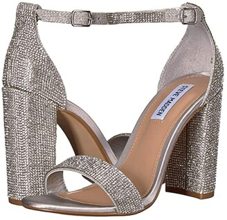 Steve Madden Carrson-R Heeled Sandal (Crystal) High Heels