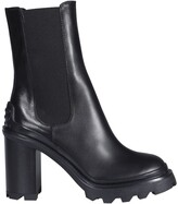 Thumbnail for your product : Tod's Chunky Sole Heeled Ankle Boots