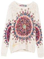 Desigual Girl's JERS_GOETHE Sweatshirt