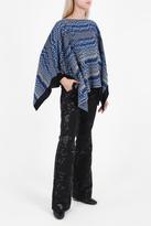 Missoni Chunky Chevron Wool Poncho