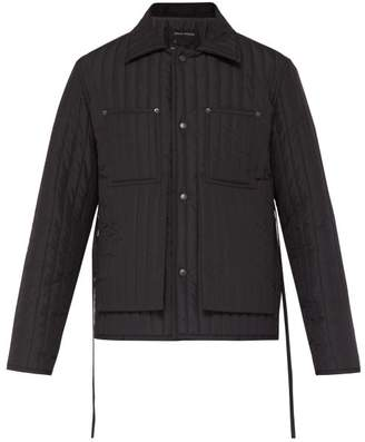 Craig Green Quilted Worker Jacket - Mens - Black