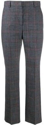 Alberta Ferretti Plaid Check Trousers