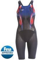 Speedo Women's LZR Elite 2 USA Open Back Kneeskin Tech Suit 8148143