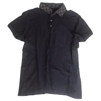 Louis Vuitton Brown Cotton Polo shirts