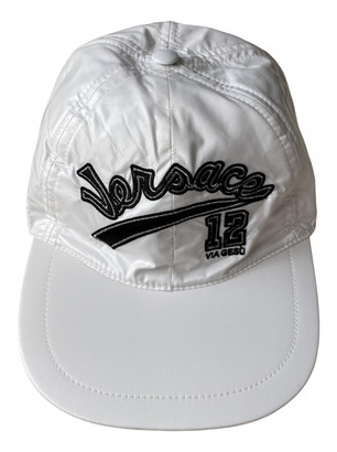 Versace White Polyester Hats & pull on hats