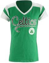 5th & Ocean Boston Celtics Contrast Slub T-Shirt, Girls (4-16)