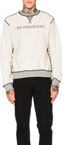 J.W.Anderson Inside Out Logo Sweater