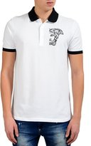 Versace Men's Logo Decorated Polo Shirt