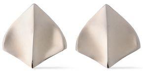 Roberto Cavalli Burnished Silver-tone Earrings
