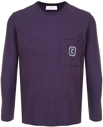 Cerruti Crew Neck Patch Pocket Sweater