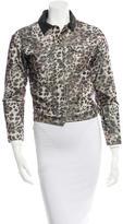 Etoile Isabel Marant Leather-Trimmed Corduroy Jacket