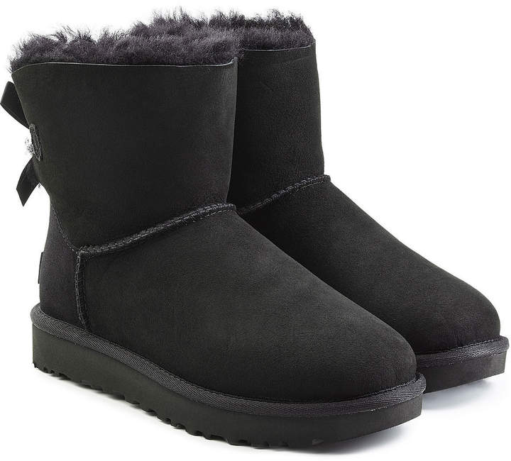 383775148ba Mini Bailey Bow Shearling Lined Suede Boots