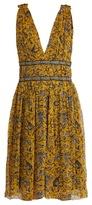 Etoile Isabel Marant Balzan floral-print silk-chiffon dress
