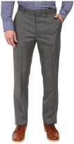 Perry Ellis Mini-Check Twill Dress Pants