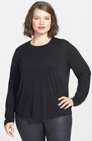 Eileen Fisher Plus Size Women's Silk Tee