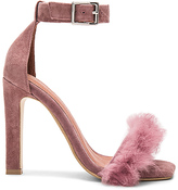 Jeffrey Campbell Obus FT Heels with Rabbit Fur in Mauve. - size 8.5 (also in )