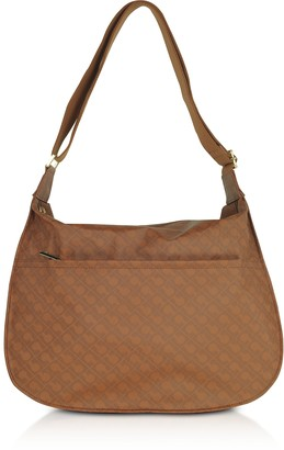 Gherardini Cinnamon Signature Fabric Softy Shoulder Bag