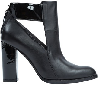 Lala Berlin Black Leather Ankle boots