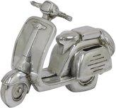 Three Hands Resin Moto Money Bank - Silver