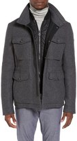 BOSS ORANGE Ohawke Wool Blend Field Jacket