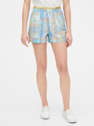 "Gap 5"" Utility Shorts in Linen-Cotton"