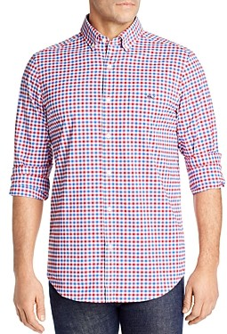 Vineyard Vines Checked Grouper Tucker Classic-Fit Button-Down Shirt