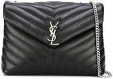 Saint Laurent medium Lou Lou Monogram chain bag - women - Calf Leather/Leather - One Size