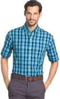 Arrow Men's Marina Beach Classic-Fit Plaid Button-Down Shirt