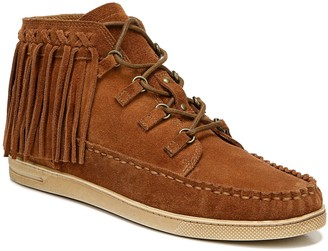 Zodiac Fringe Moccasin Boots - Vera