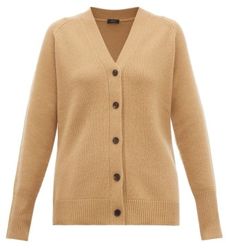 Joseph Buttoned Cashmere Cardigan - Womens - Tan