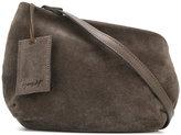 Marsèll diagonal cut mini bag - women - Suede - One Size