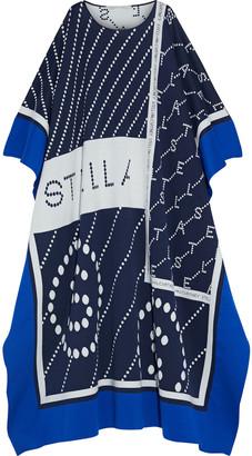 Stella McCartney Jacquard-knit Poncho