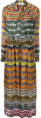 Preen by Thornton Bregazzi Printed Midi Dress