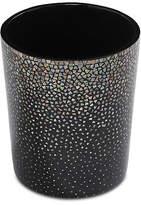 Bunny Williams Home Dappled Wastebasket - Black