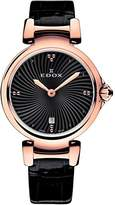 Edox Women's 57002 37RC NIR LaPassion Analog Display Swiss Quartz Watch