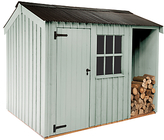 Crane National Trust by Blickling Garden Shed, 2.4 x 3m