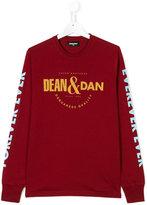 DSQUARED2 Dean & Dan print top