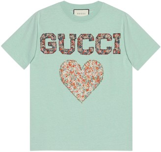Gucci Liberty T-shirt with patches