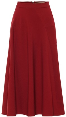 Roland Mouret Exclusive to Mytheresa Offley crepe midi skirt