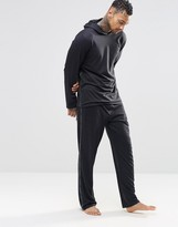 Calvin Klein Lounge Pants with Taped Logo in Slim Fit