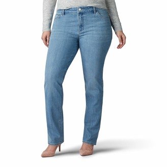 Lee Women's Plus Size Legendary Regular Fit Straight Leg Jean