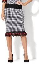 New York & Co. Gingham Sweater Skirt