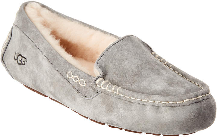ee66a12299c Women's Ansley Water Resistant Suede Slipper